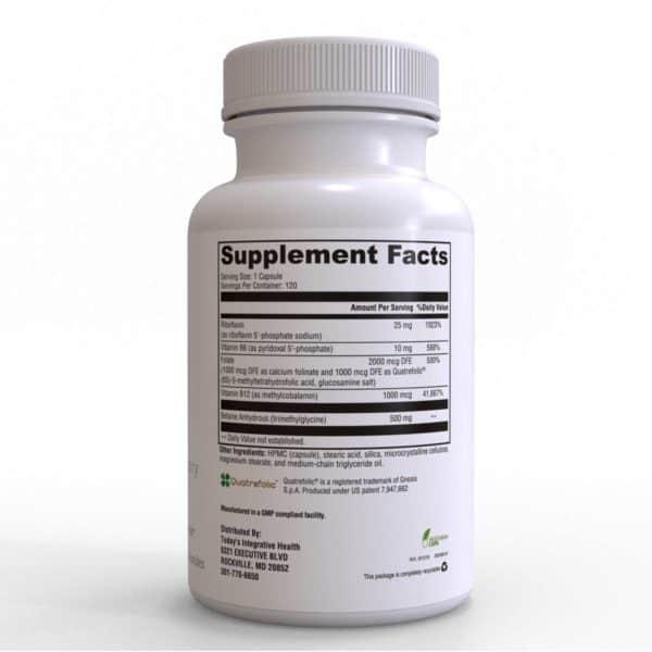 MDPA Methylfolate - Methylation Support Formula 120 Caps